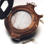 Wooden pocketwatch