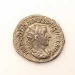 Silver Roman coin