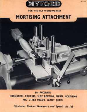 Mortising attachment